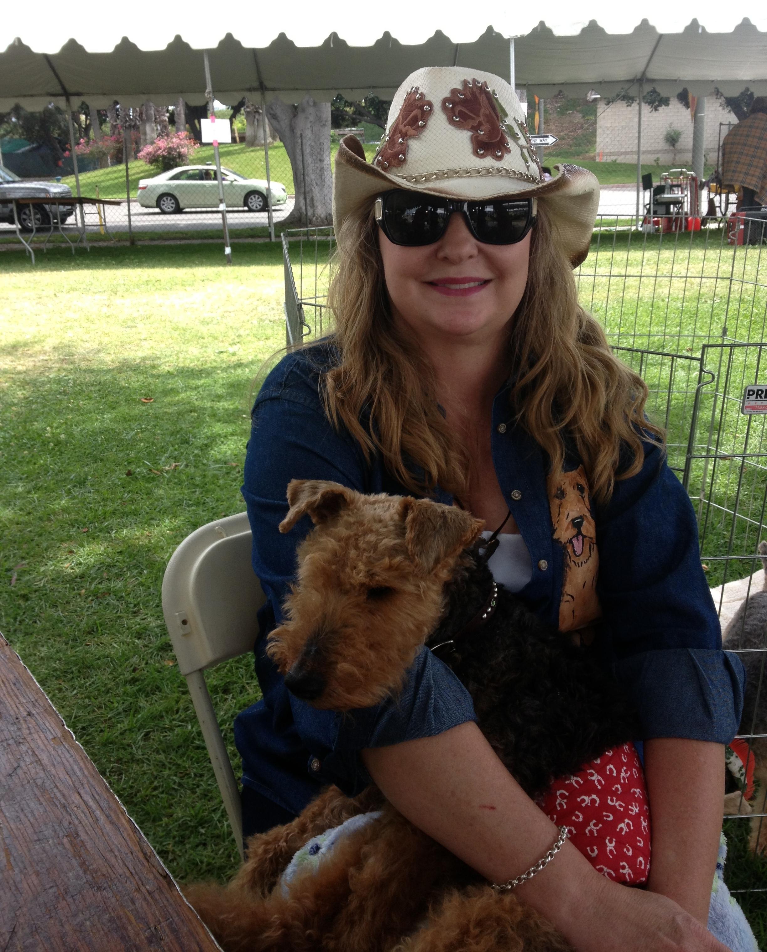 """Victoria """"Vicki"""" Rhodes -  Wild Blue Dogs Founder"""