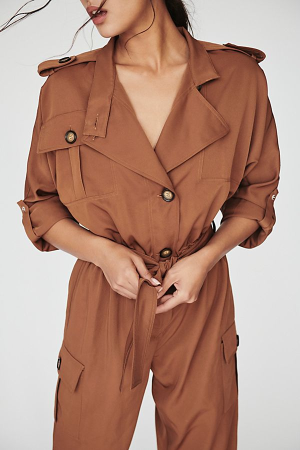 trench suit