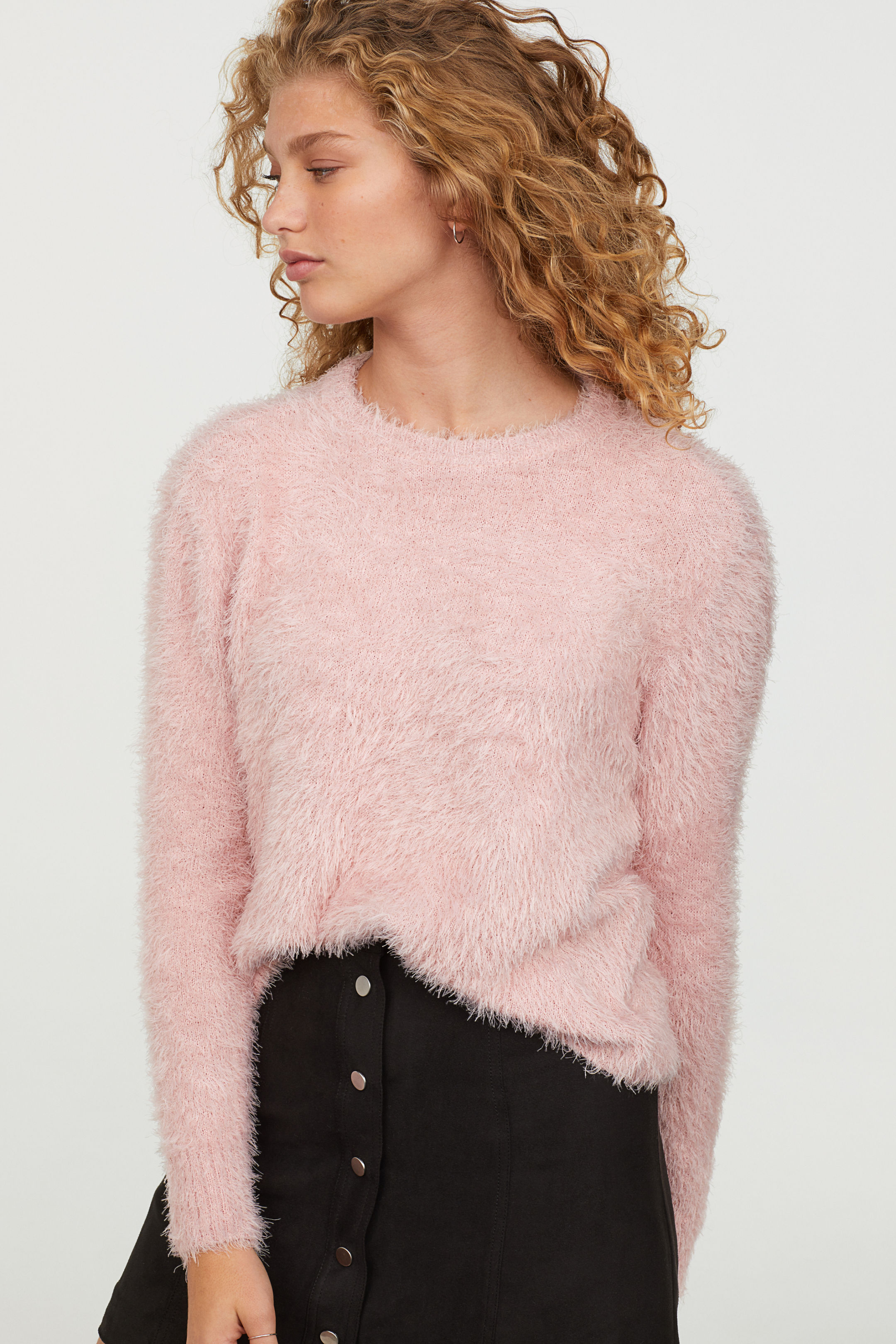fluffly sweater