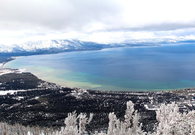 Lake Tahoe from Heavenly Mountain