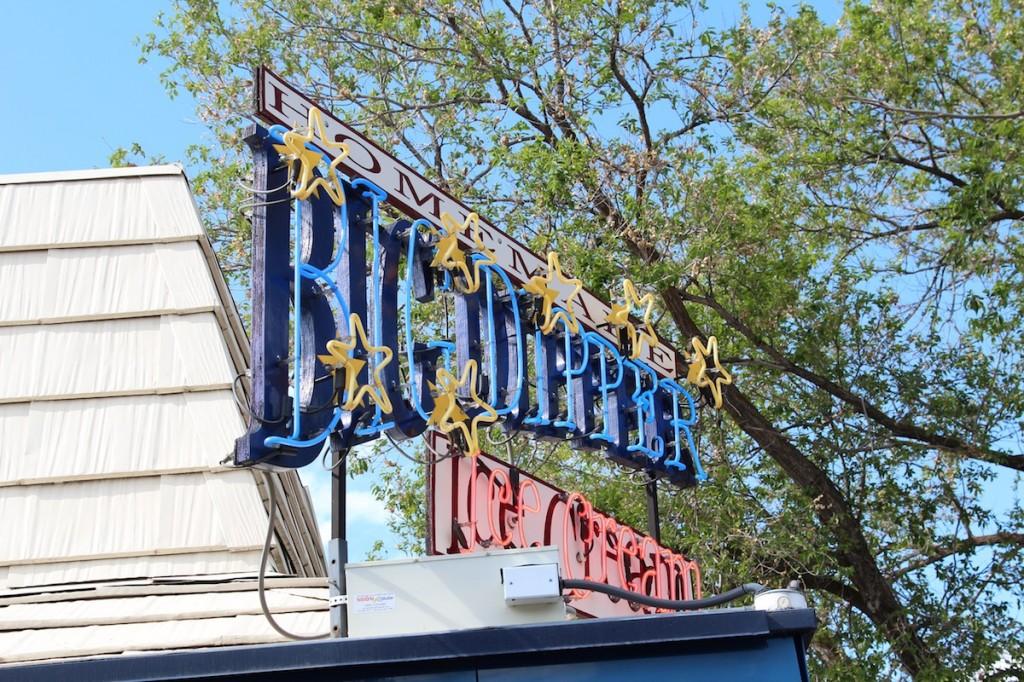 Big Dipper ice cream in Montana