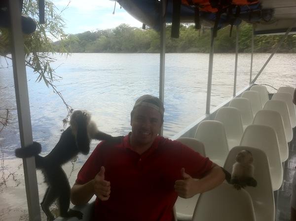Monkeys on a Boat