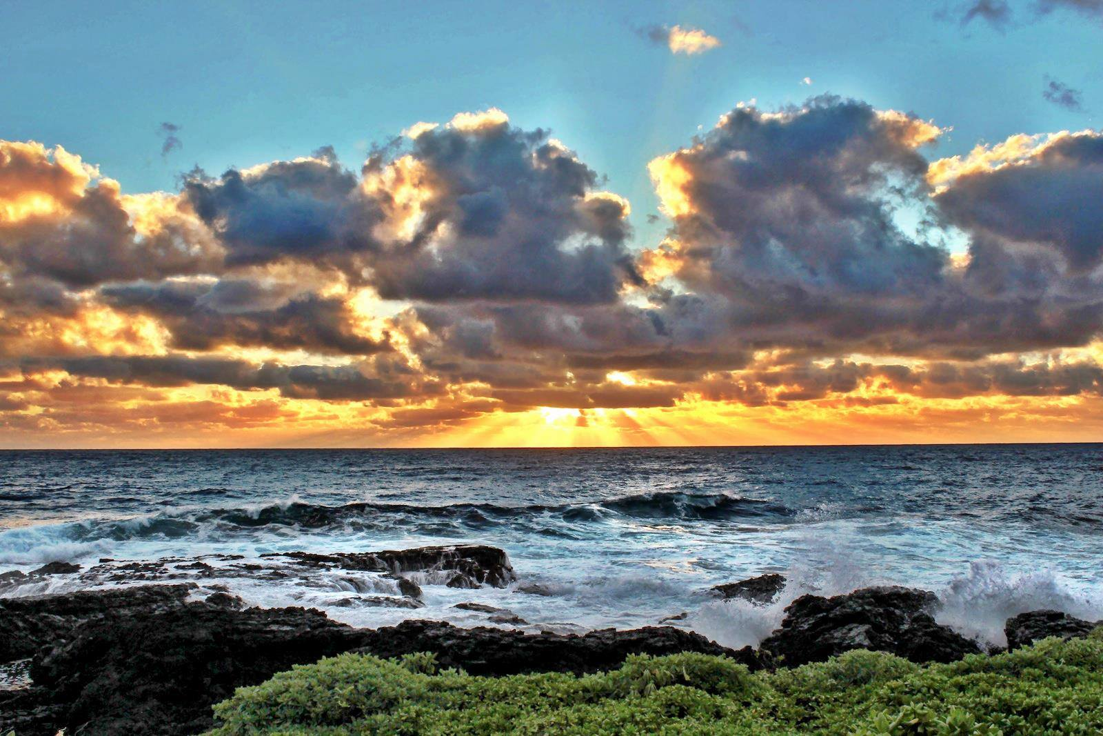 Maui sunrise from Hana