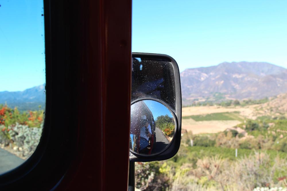 Ojai Valley, California from Meditation Mount