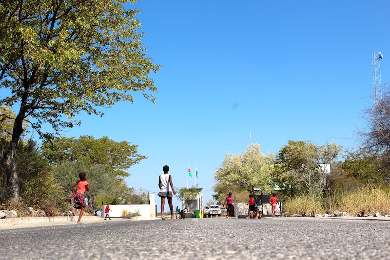 Etosha National Park Entrance