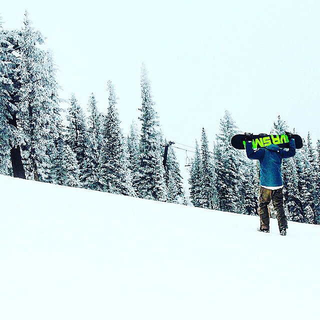Exhibit A: Bro or snowboarder (Photo by Bobby Christian).
