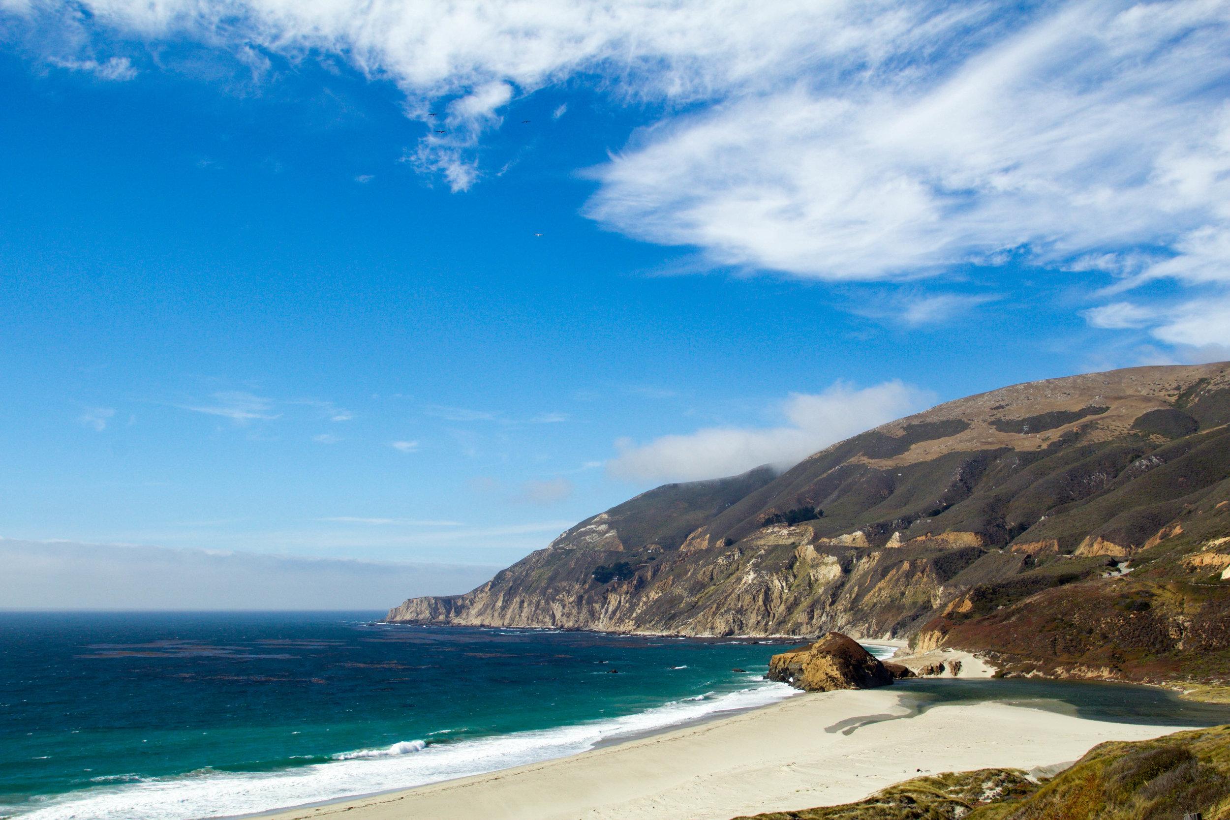 Big Sur California beach