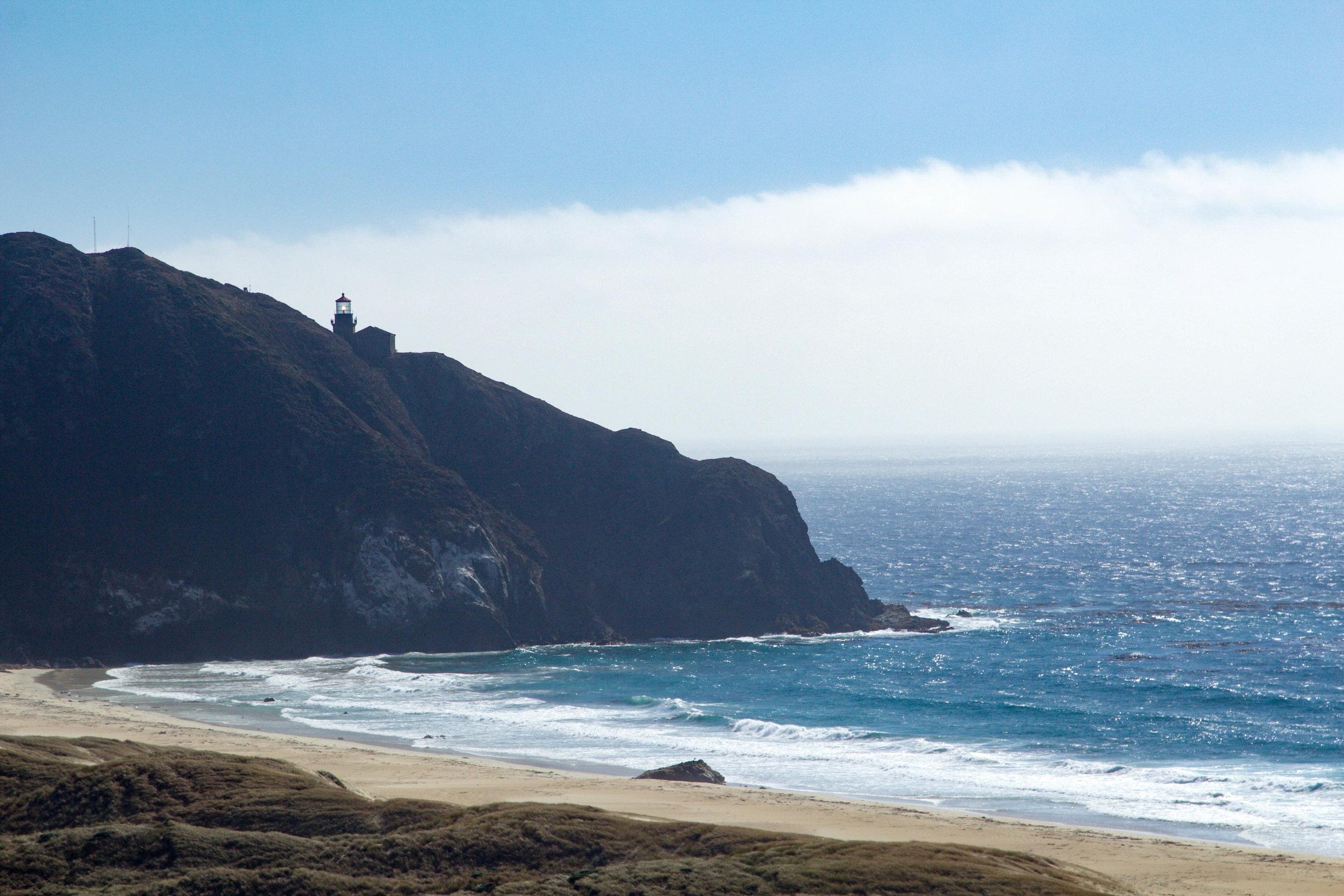 Point Sur Lighthouse in Big Sur