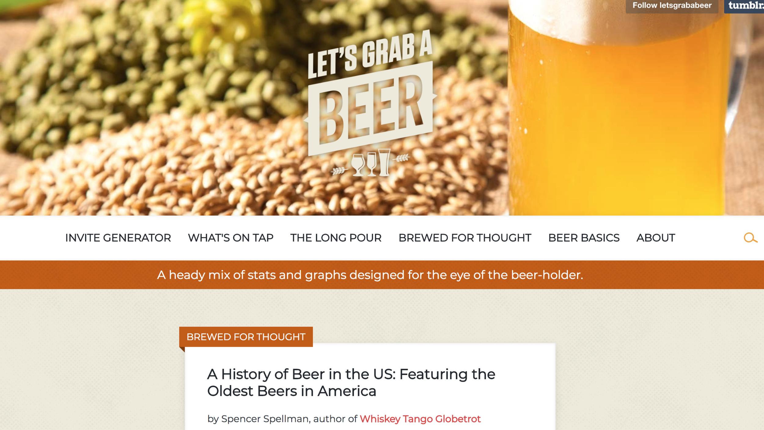 Anheuser-Busch/Let's Grab A Beer (Ambassador)