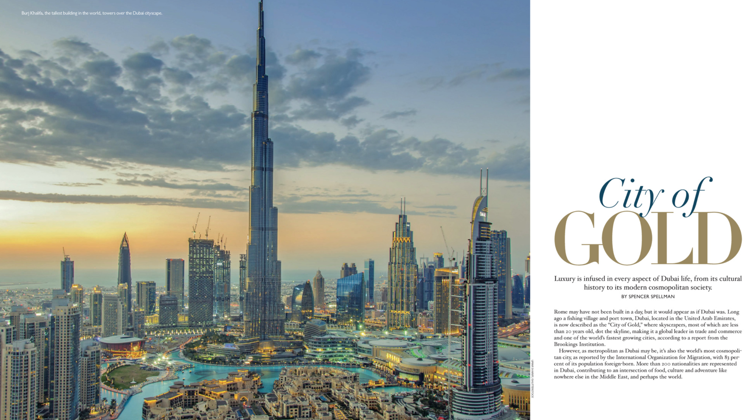 Montage Magazine: City of Gold