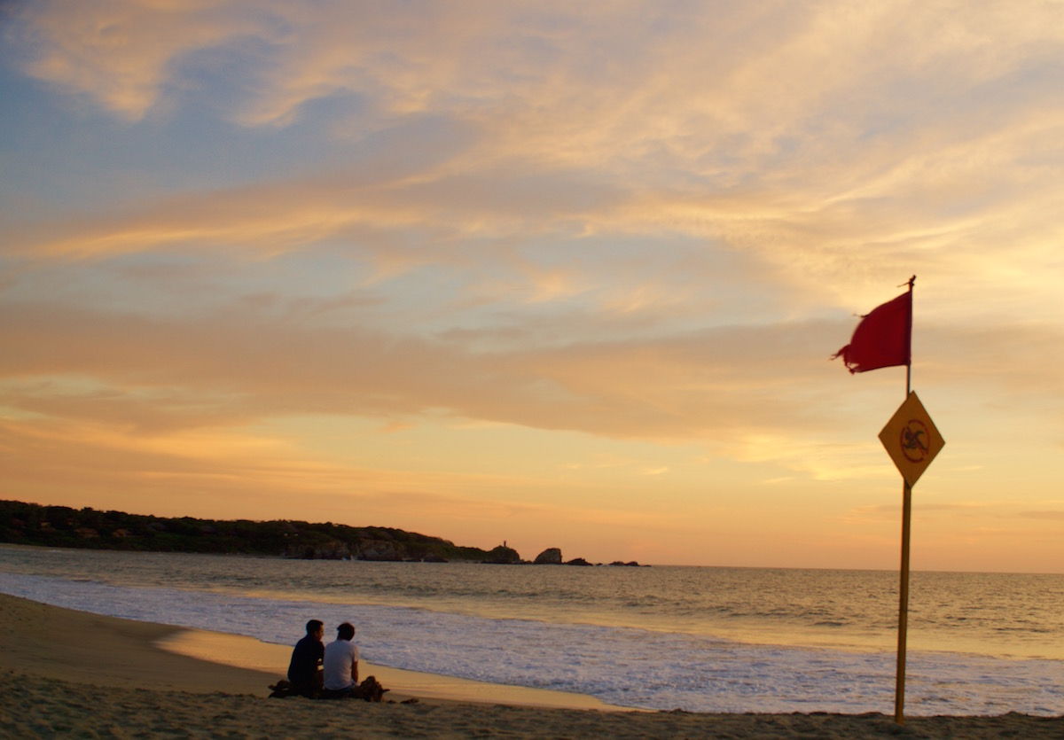 Playa Zicatela Beach