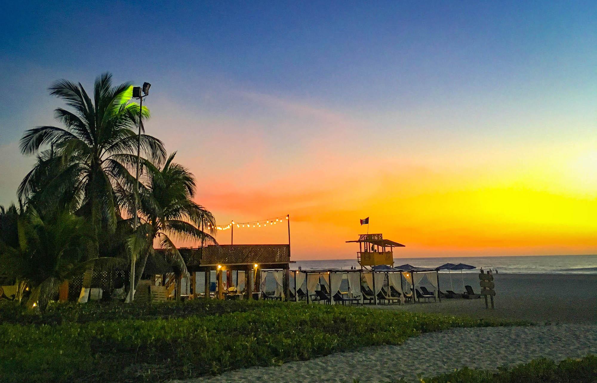 Zicatela restaurant in Puerto Escondido