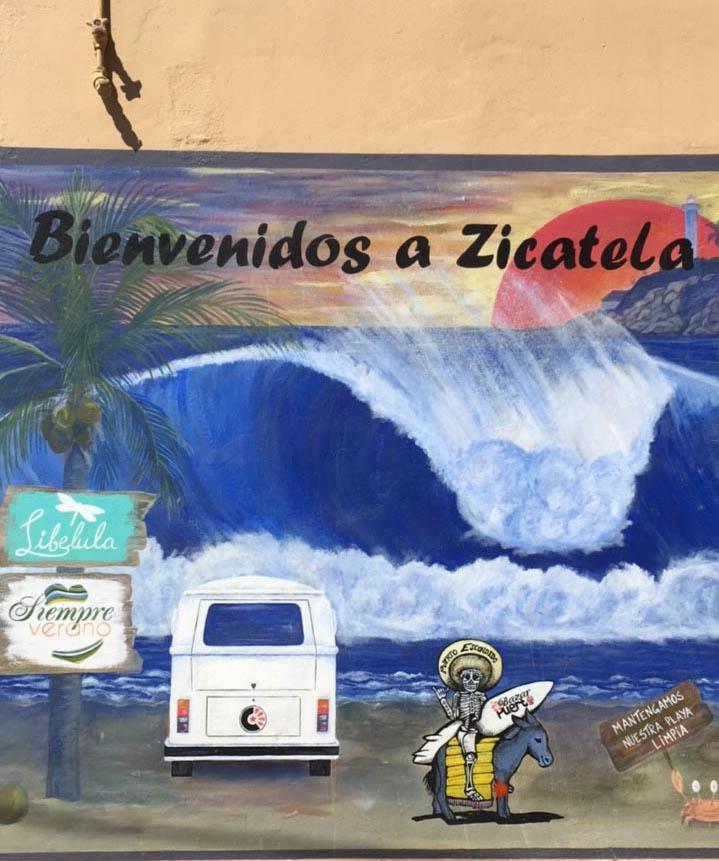 Zicatela Street Art