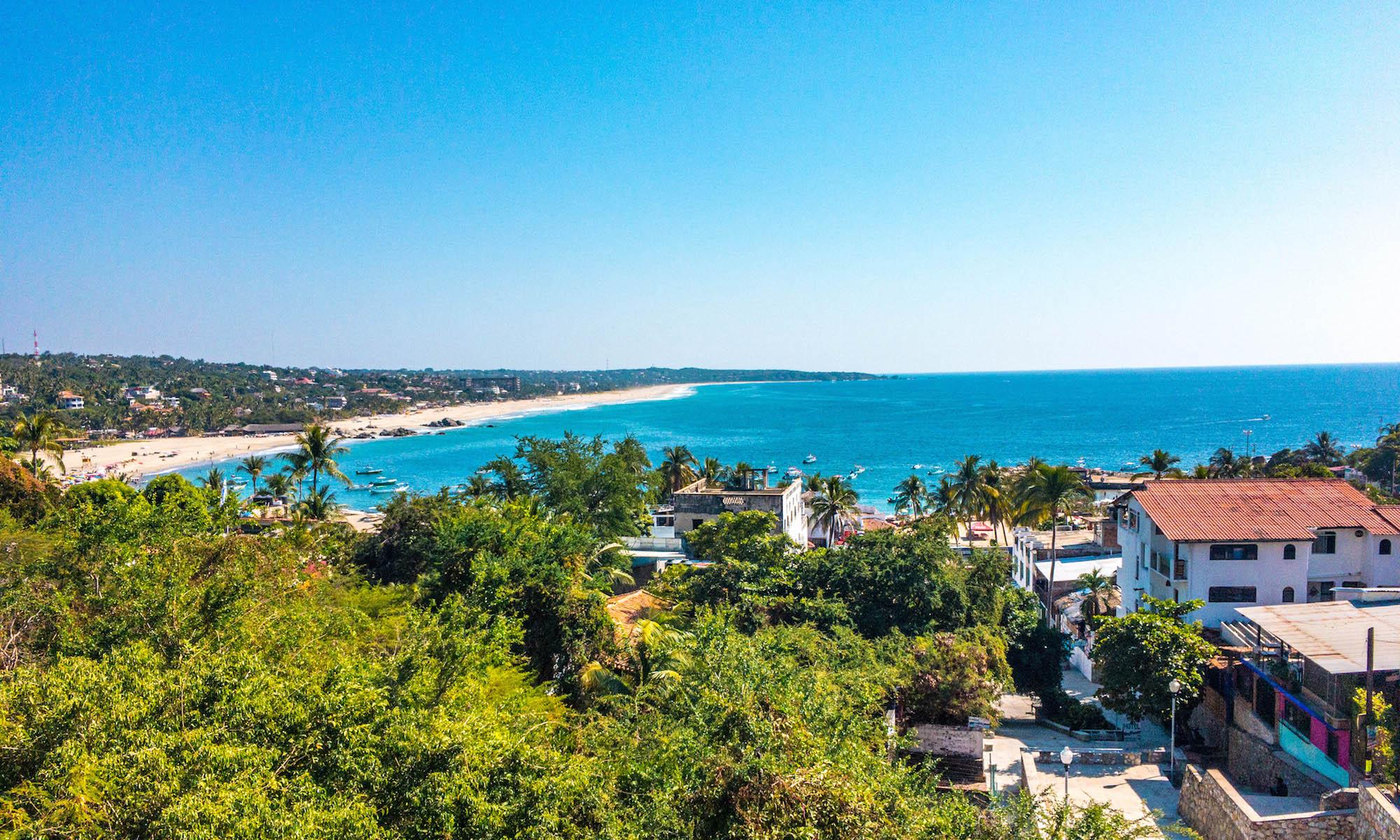 Puerto Escondido Overlook