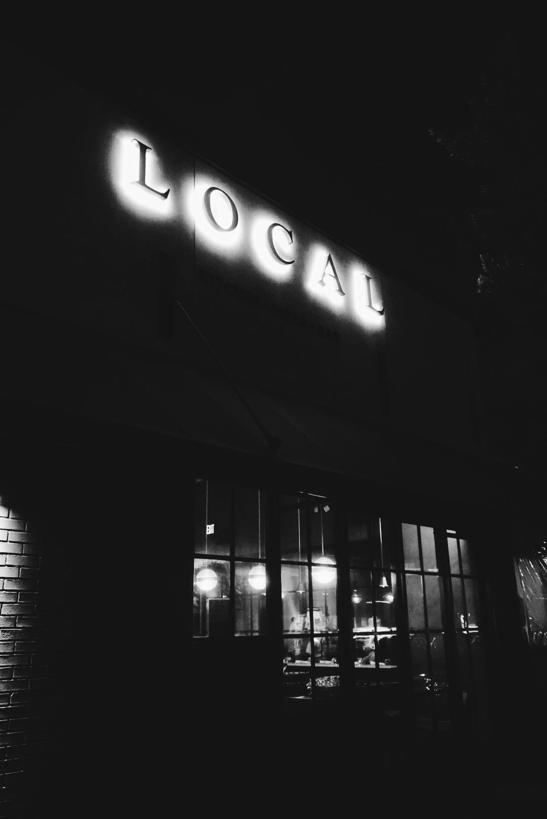 Local restaurant Santa Monica