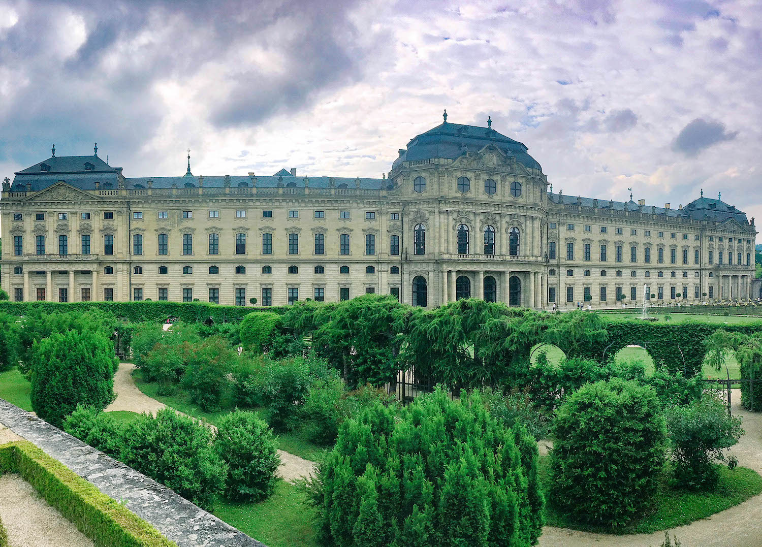 The Würzburg Residence (and my future home).