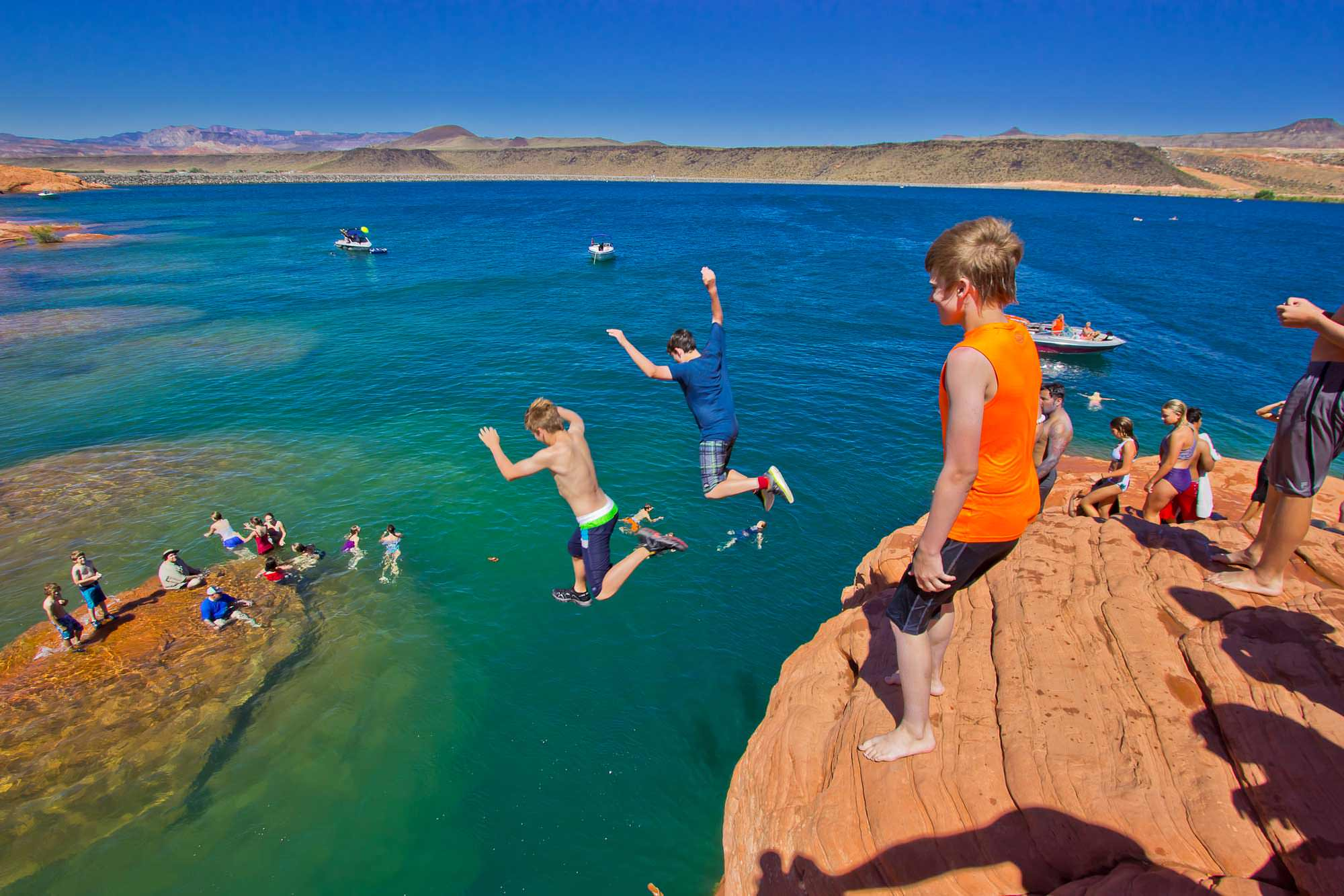 Photo of Sand Hollow State Park from Visit St. George