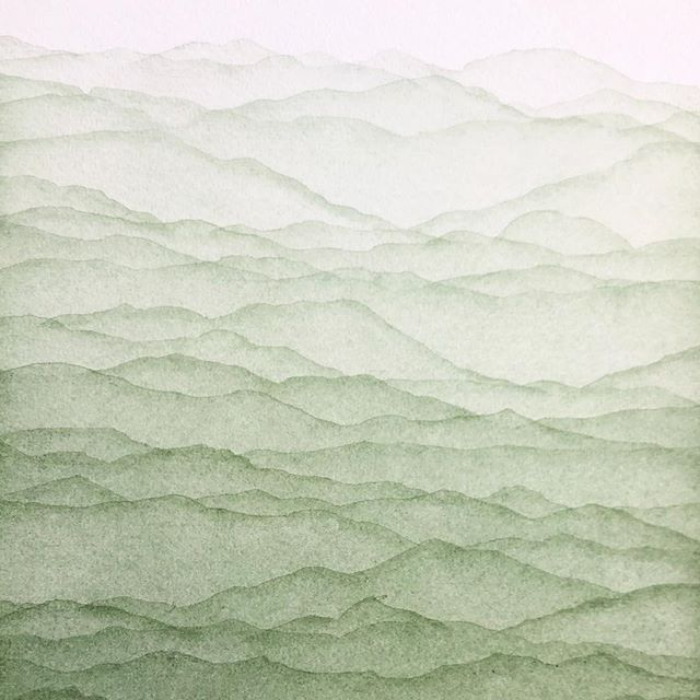 Those subtle layers of that Terre Verte