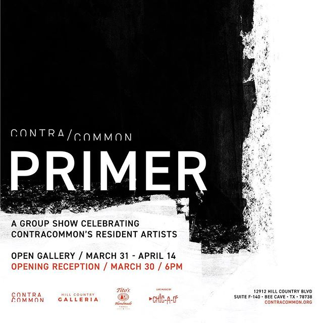 ❗️❕❗️This is more than just an art show reception. Come on out for the GRAND OPENING of Austin's newest artist community, @contracommon! ❕❗️❕Contracommon is a nonprofit gallery, workshop and studio space partnering with the @hillcountrygalleria to bring opportunities to emerging artists. We'd love your support on our big night! There'll be art, live music, open studios and more. Big thanks to our sponsors at Tito's Handmade Vodka for making this possible! @titosvodka ⚫️⚪️🔴⚪️⚫️ #contracommon #hillcountrygalleria #beecave #do512 #austinevents #atxevents #austinart #atxart #texasart #newcontemporaryart #contemporaryaustin #atxartists