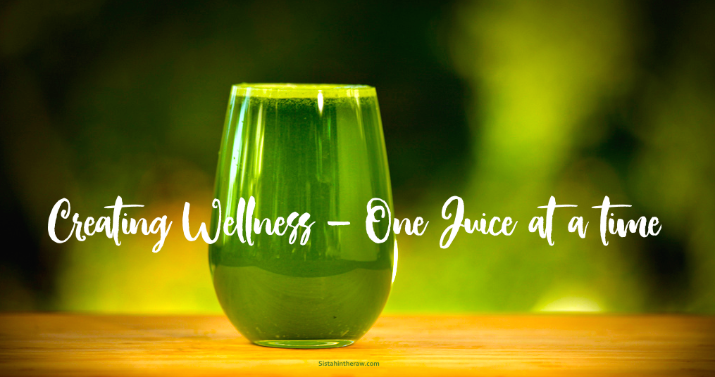 Join Sistahintheraw's  Juice Club programme