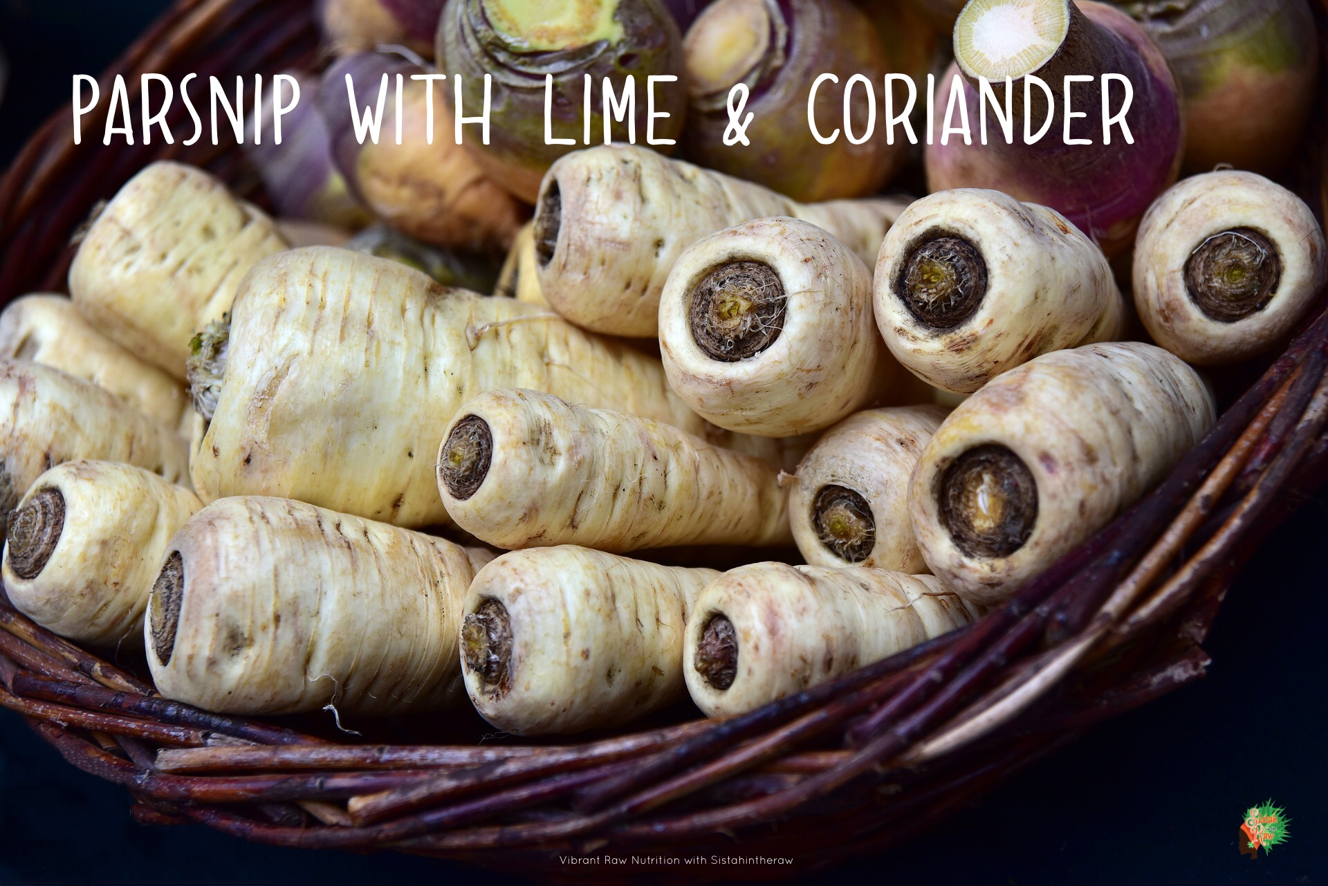 Parsnips are a sweet, juicy root vegetable
