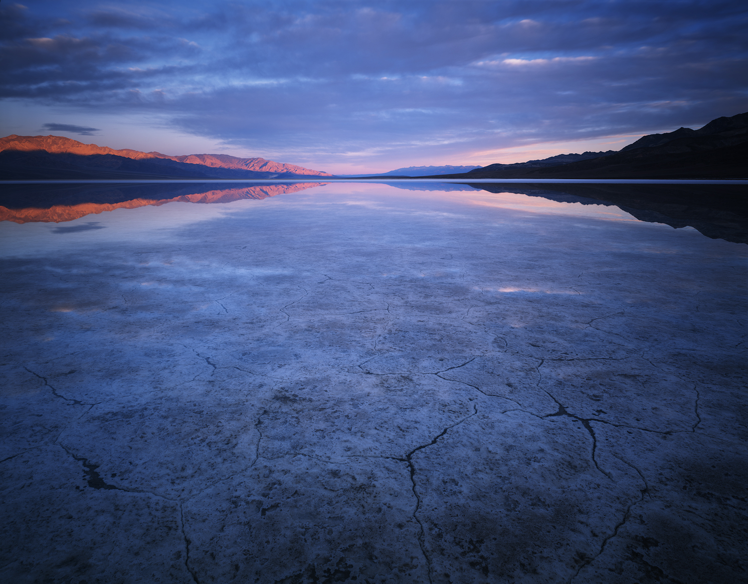 The Thin White Line  | Death Valley, California