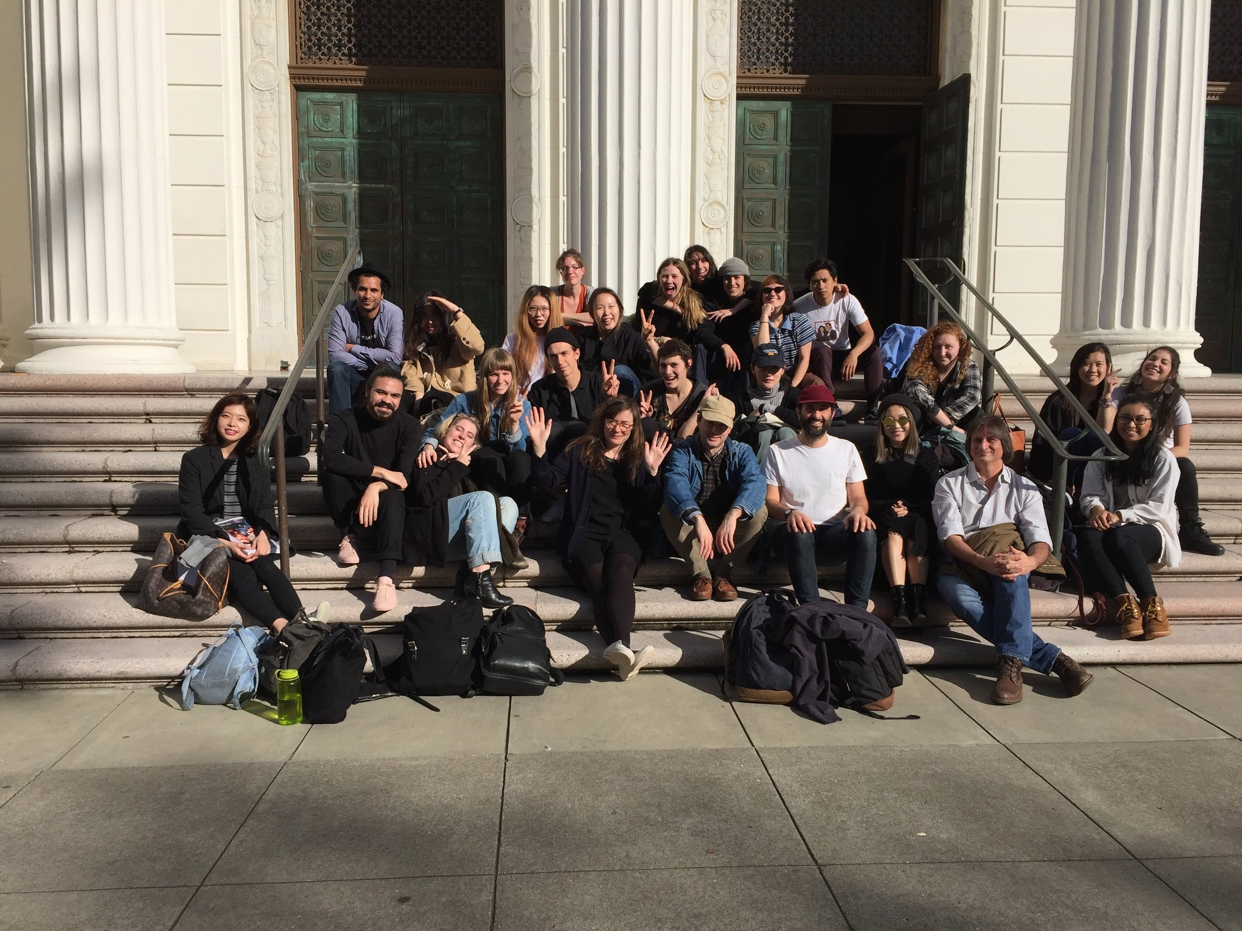 First Official Class Portrait at the  Internet Archive  with our pal, Jason Fulford.
