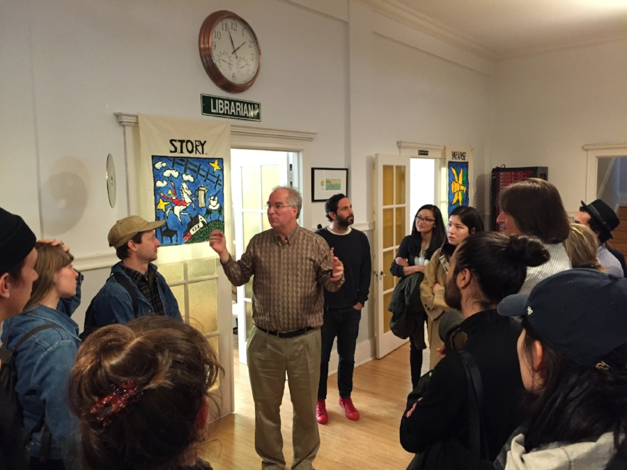 Meeting with Internet Archive founder, Brewster Kale
