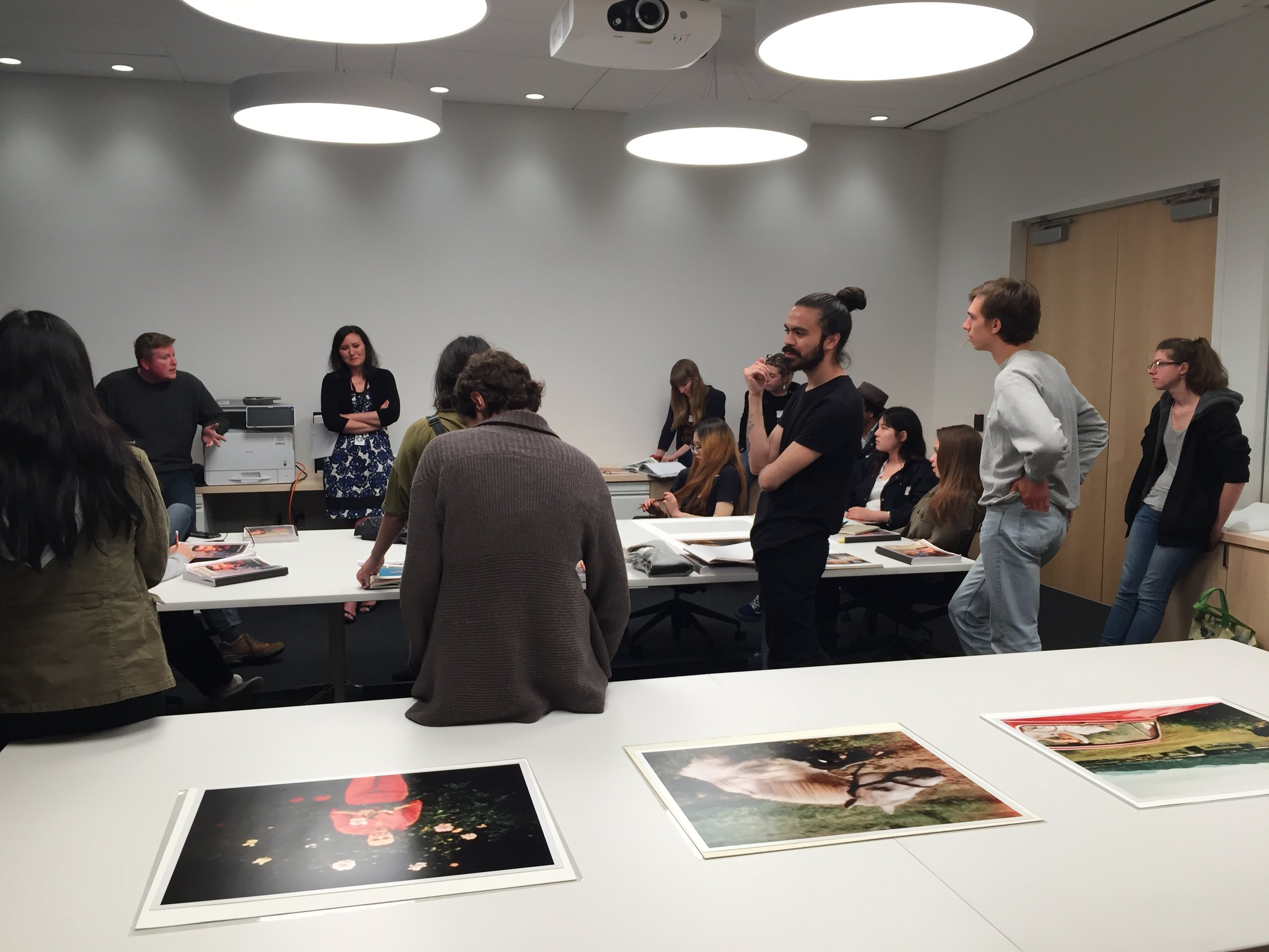 HANGING OUT WITH SFMOMA PHOTO CURATORS ADAM RYAN AND LINDE BRADY LEHTINEN