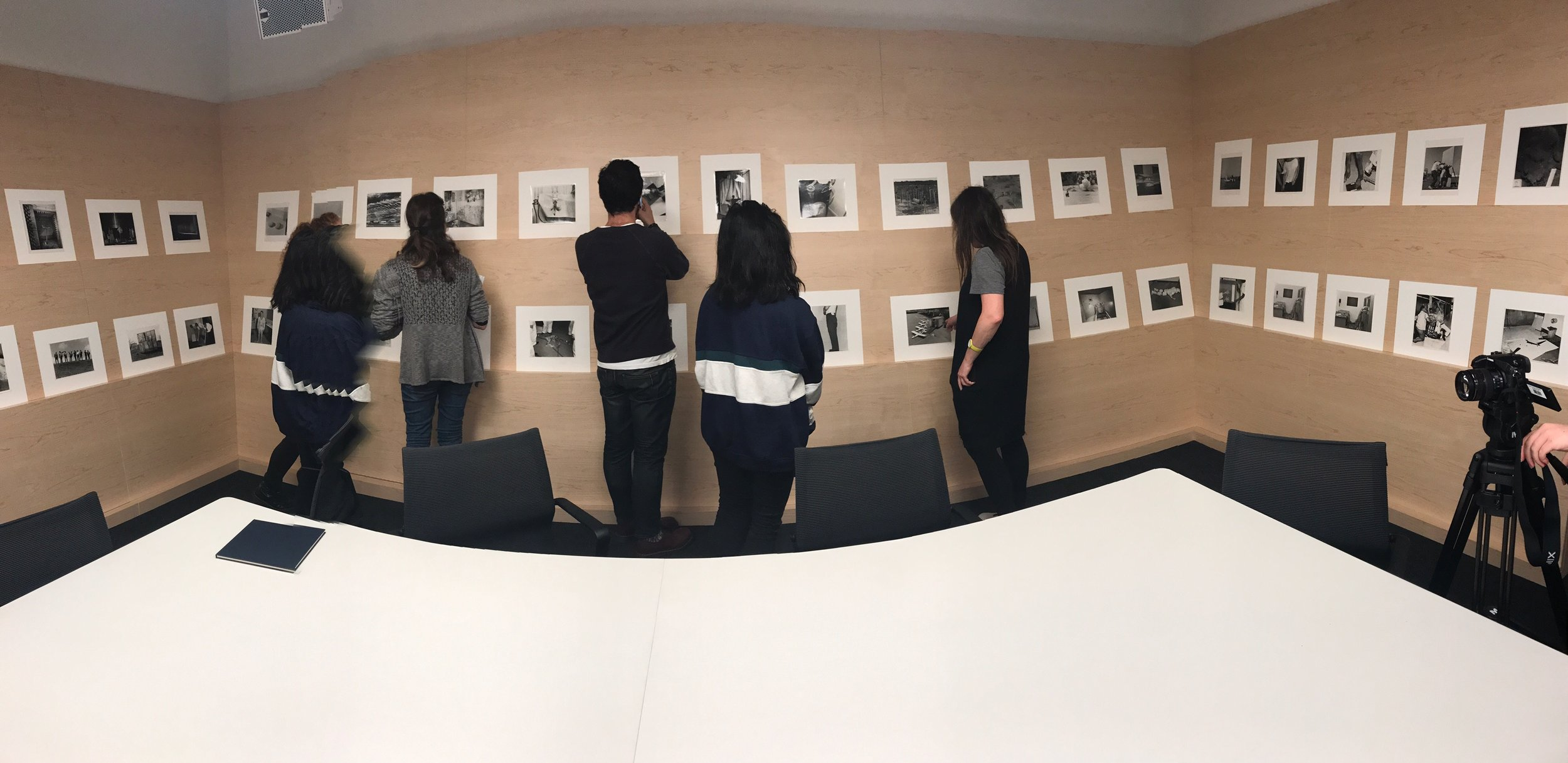 BACK AT SFMOMA STUDY CENTER LOOKING AT THE ENTIRE SULTAN/MANDEL EVIDENCE EDITION