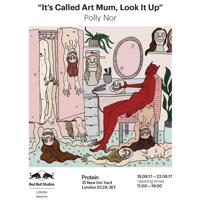 polly nor mu, the tung painting poster art