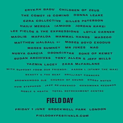 the tung magazine music festivals london field day gala junction 2