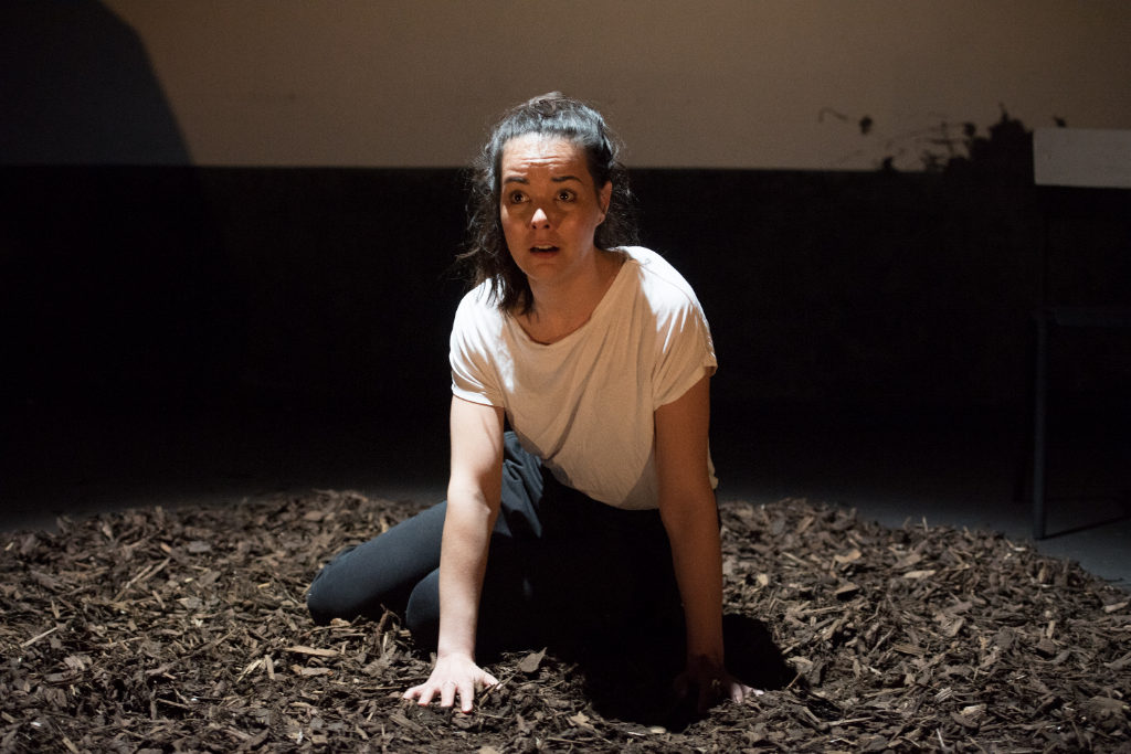 Aoife Lennon in Killymuck at The Bunker. Photo: Craig Sugden