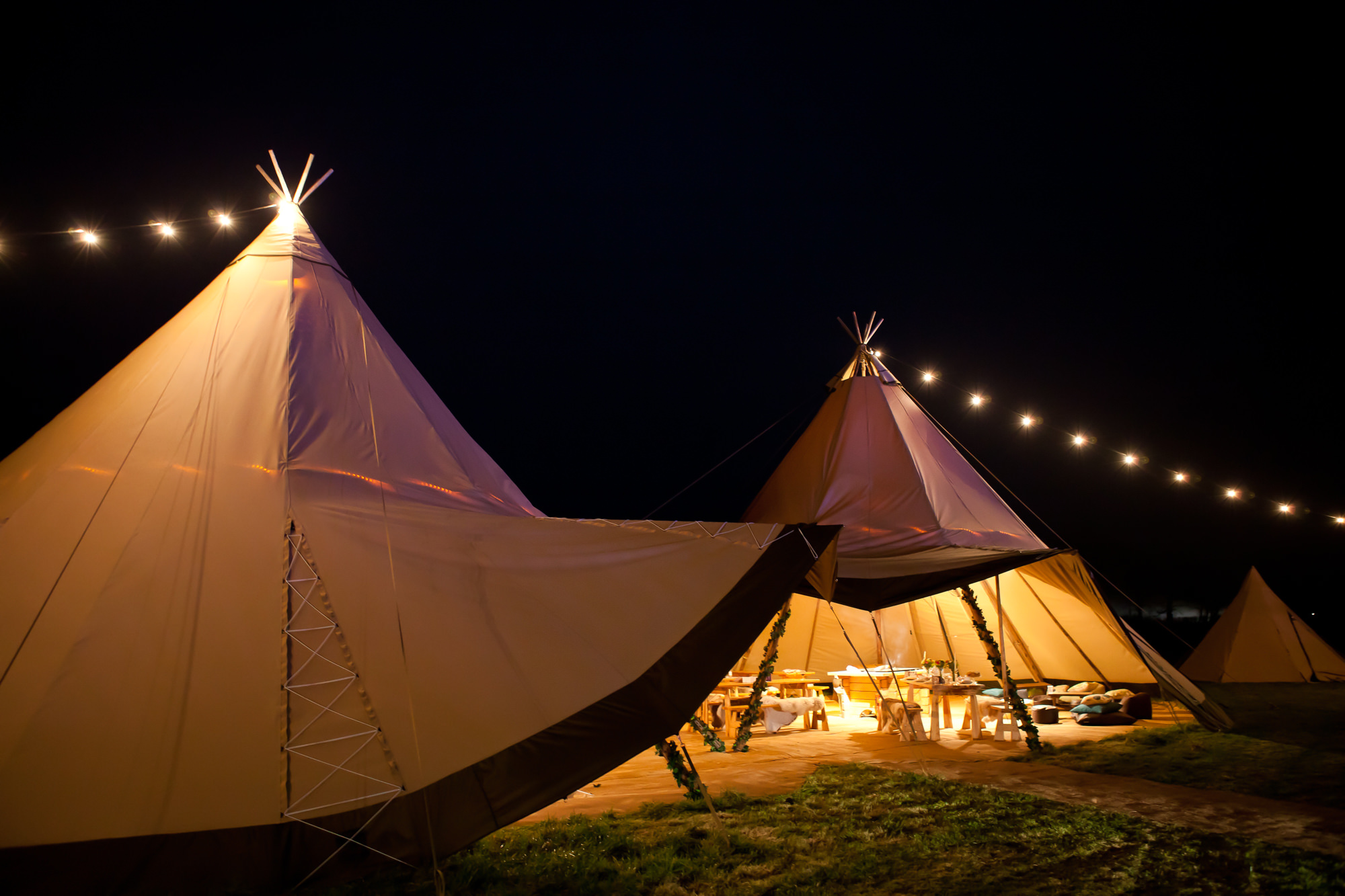 Copy of Copy of Copy of Tipi ready for guests