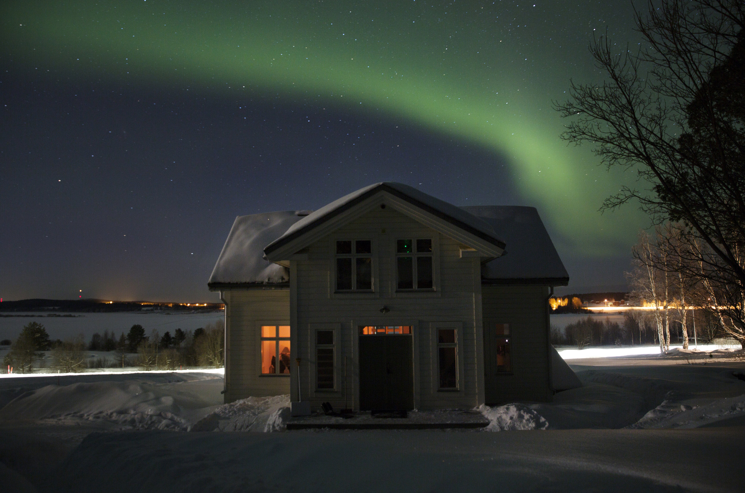 Experience The Northern Lights all winter. Its free.