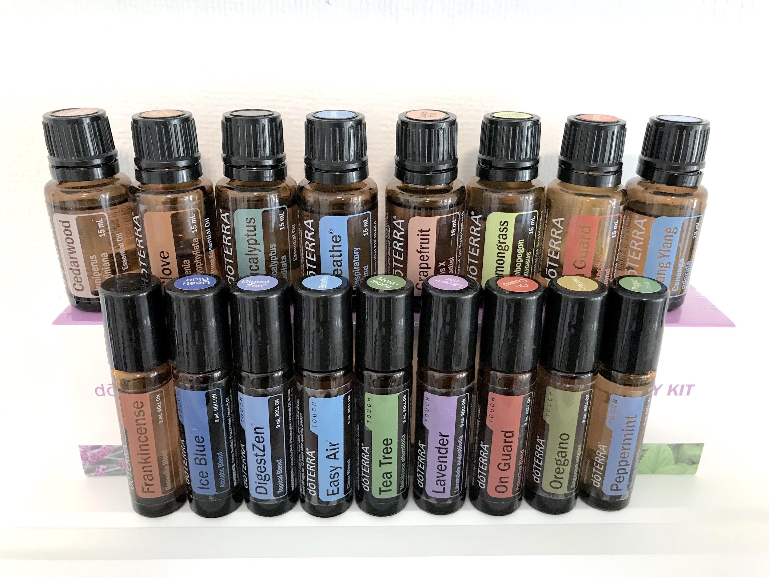 Doterra Essential Oils.JPG
