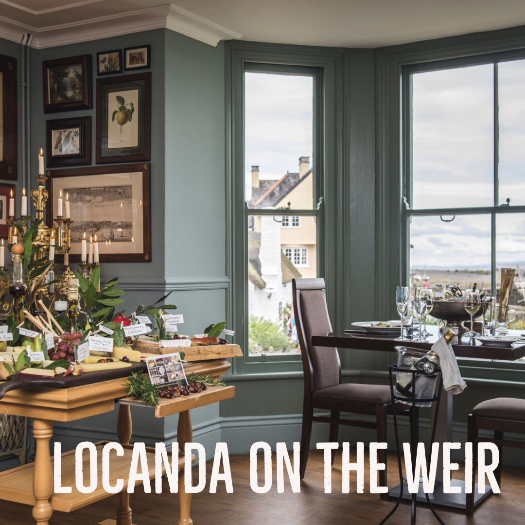 LOCANDA ON THE WEIR - Pio and Cindy at Locanda on the Weir at Porlock Weir are the perfect hosts if you'd like a countryside retreat by the sea. The Locanda is a beautifully designed boutique hotel in a 15th century harbour, with a choice of five individually styled bedrooms, most with sea views across Porlock Bay. Pio, the Italian Chef Proprietor has a passion for fresh, seasonal and locally sourced cuisine and Italian wines. locandaontheweir.co.uk
