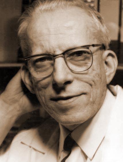 Otto Wichterle (1913 - 1998) gilt als Erfinder der ersten weichen Kontaktlinse