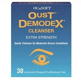 Oust Demodex Tücher
