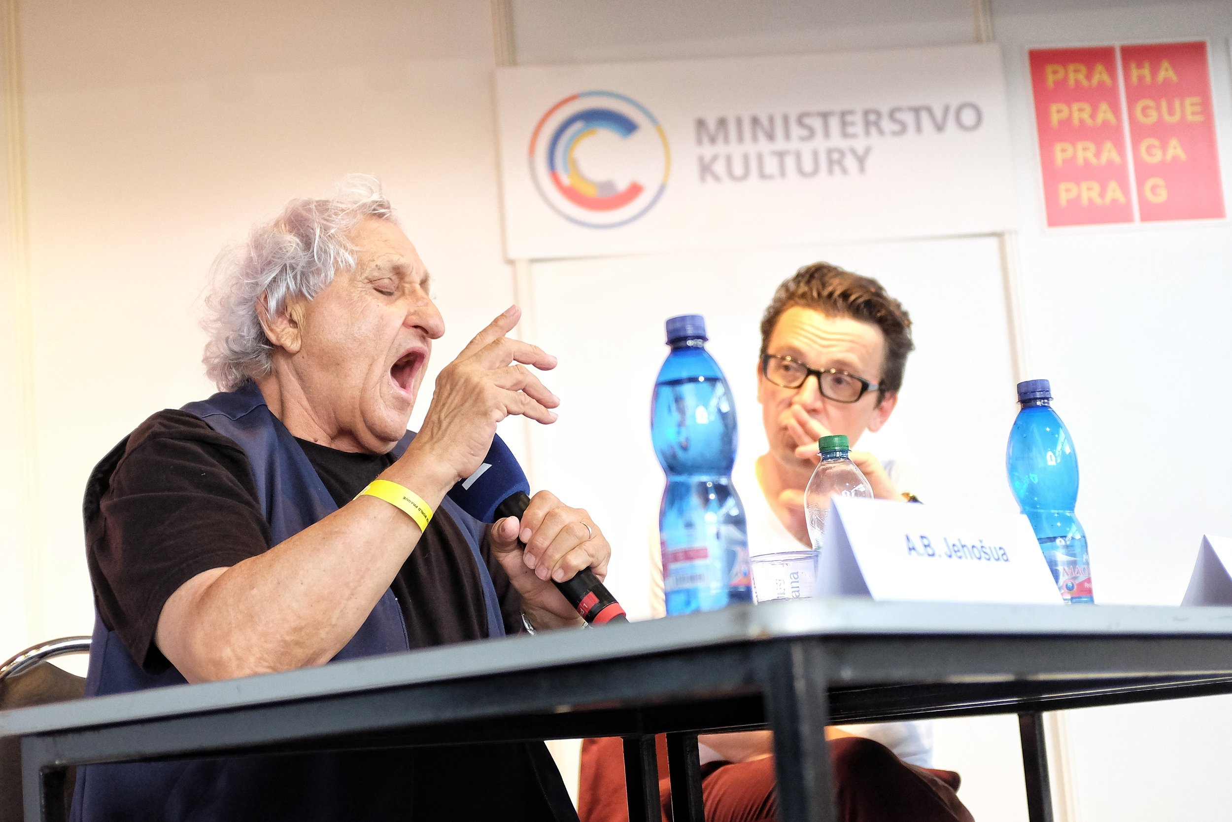 Literary giant A. B. Yehoshua talks about the importance of morality in literature.
