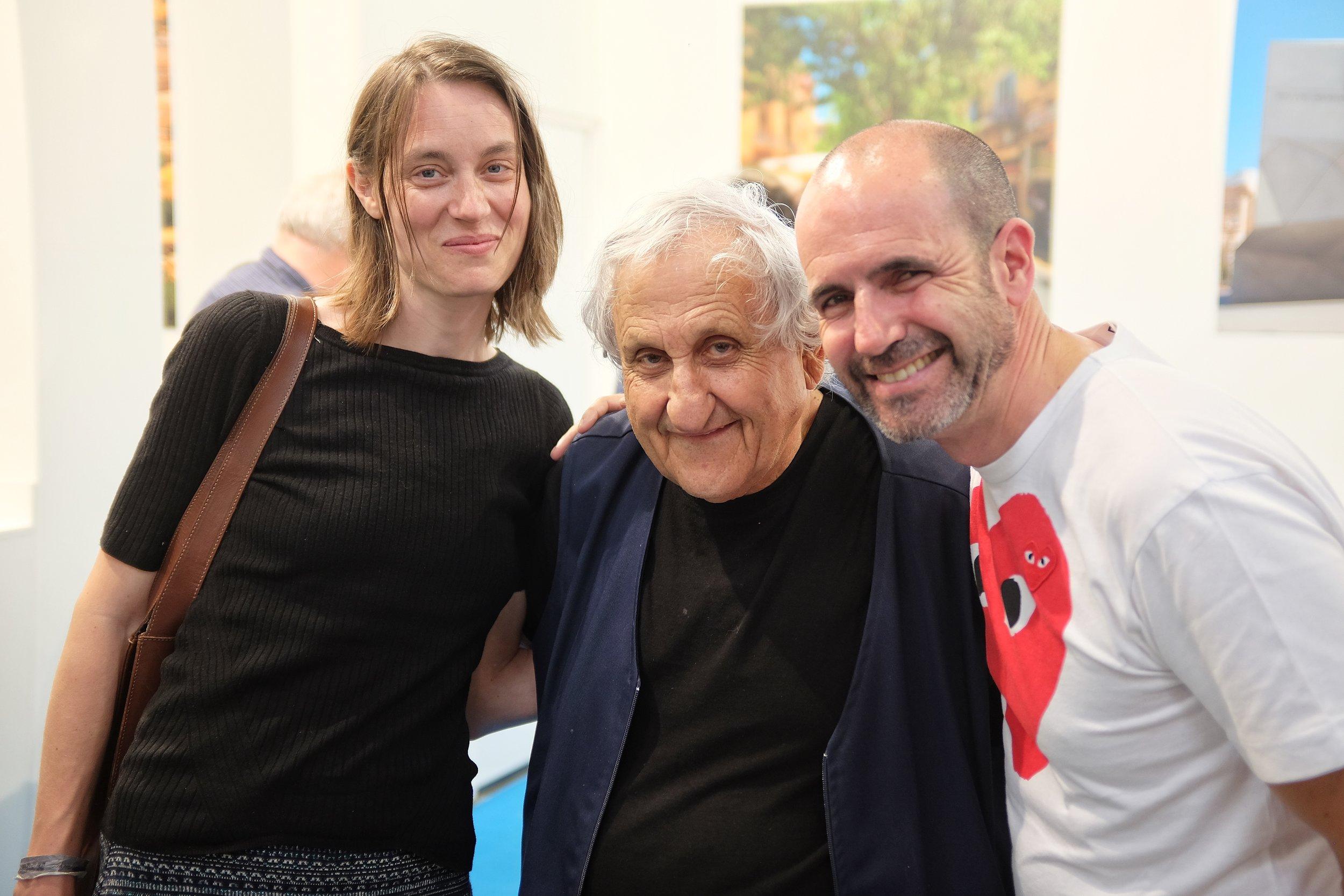 Yehoshua with his Czech translator Magdaléna Křížová