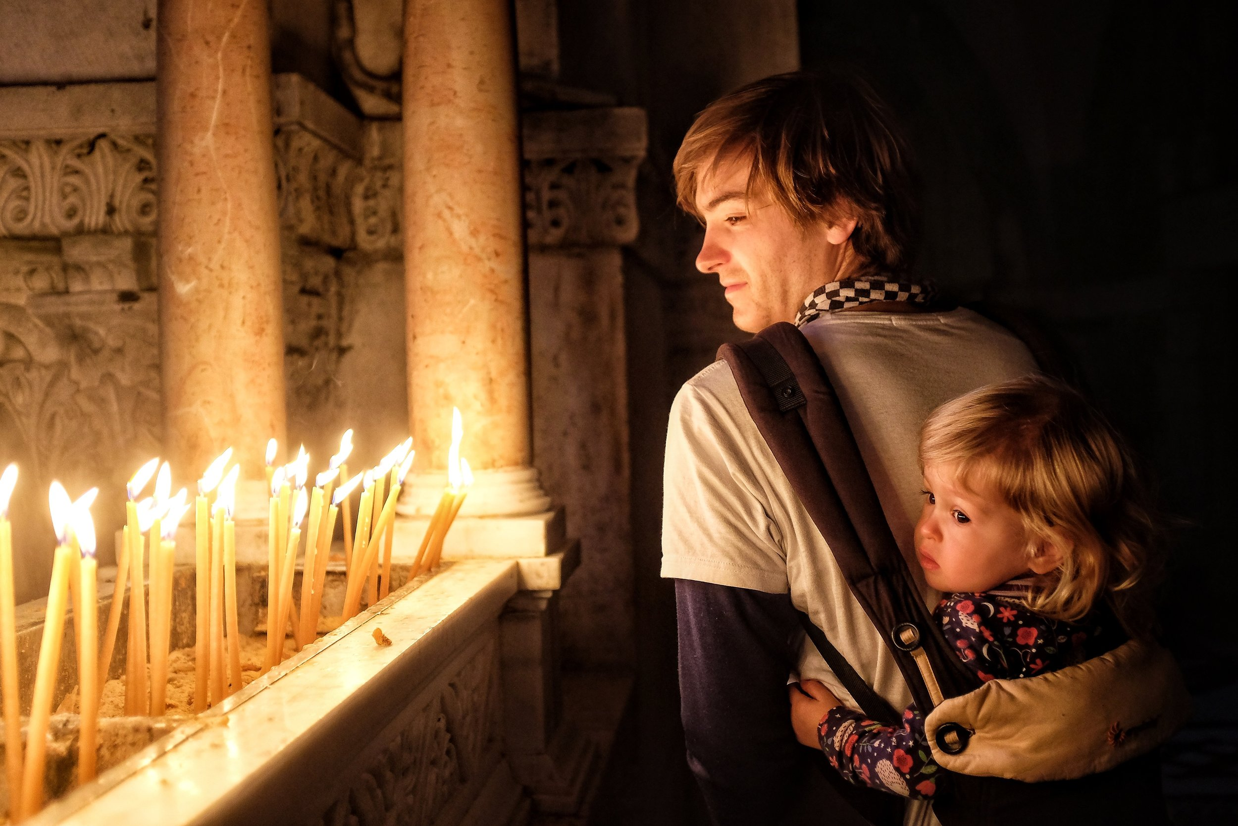 Christmas Day at the Church of the Holy Sepulcher, Jerusalem