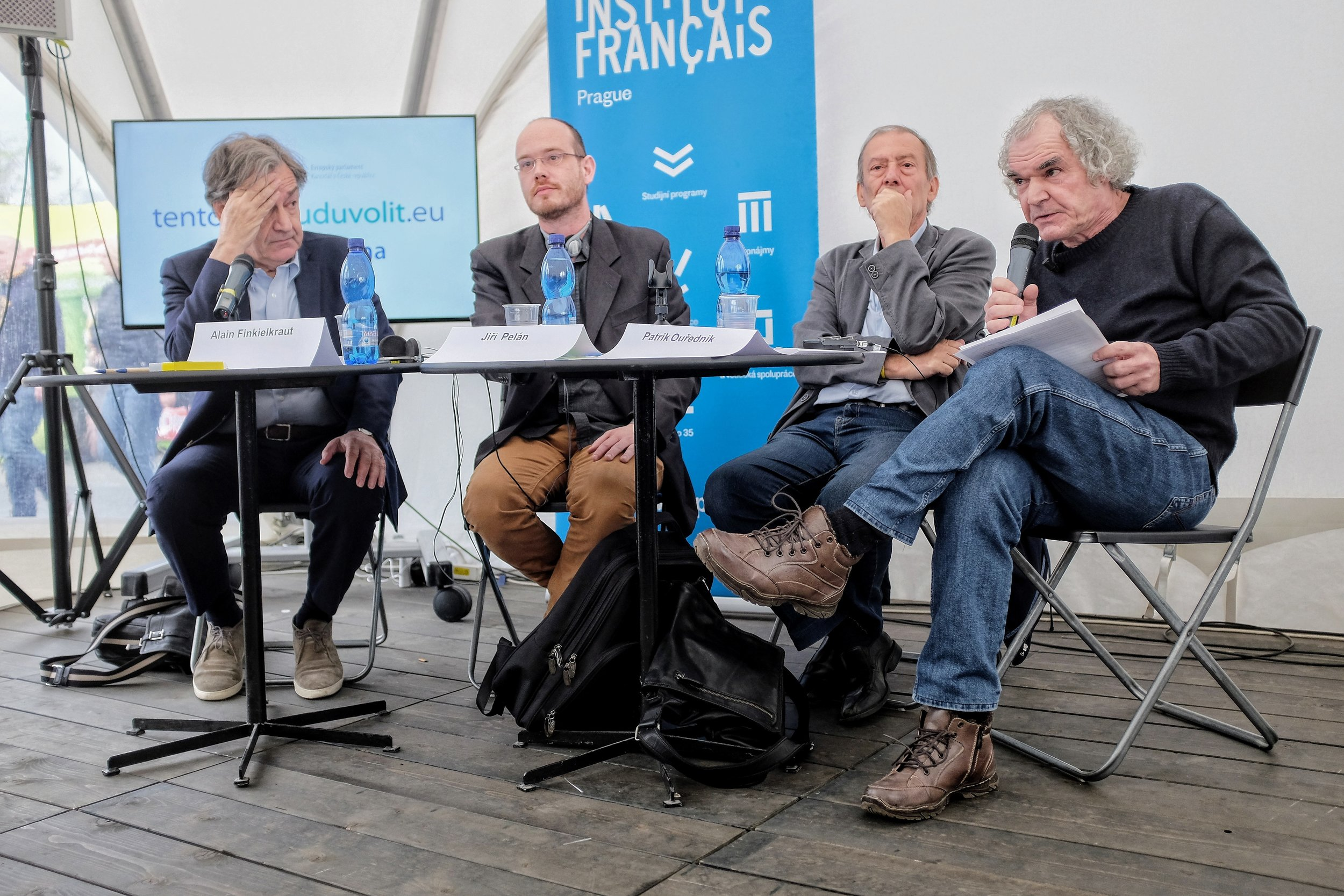 AF, Guillaume Basset, Jiří Pelán, Patrik Ouředník