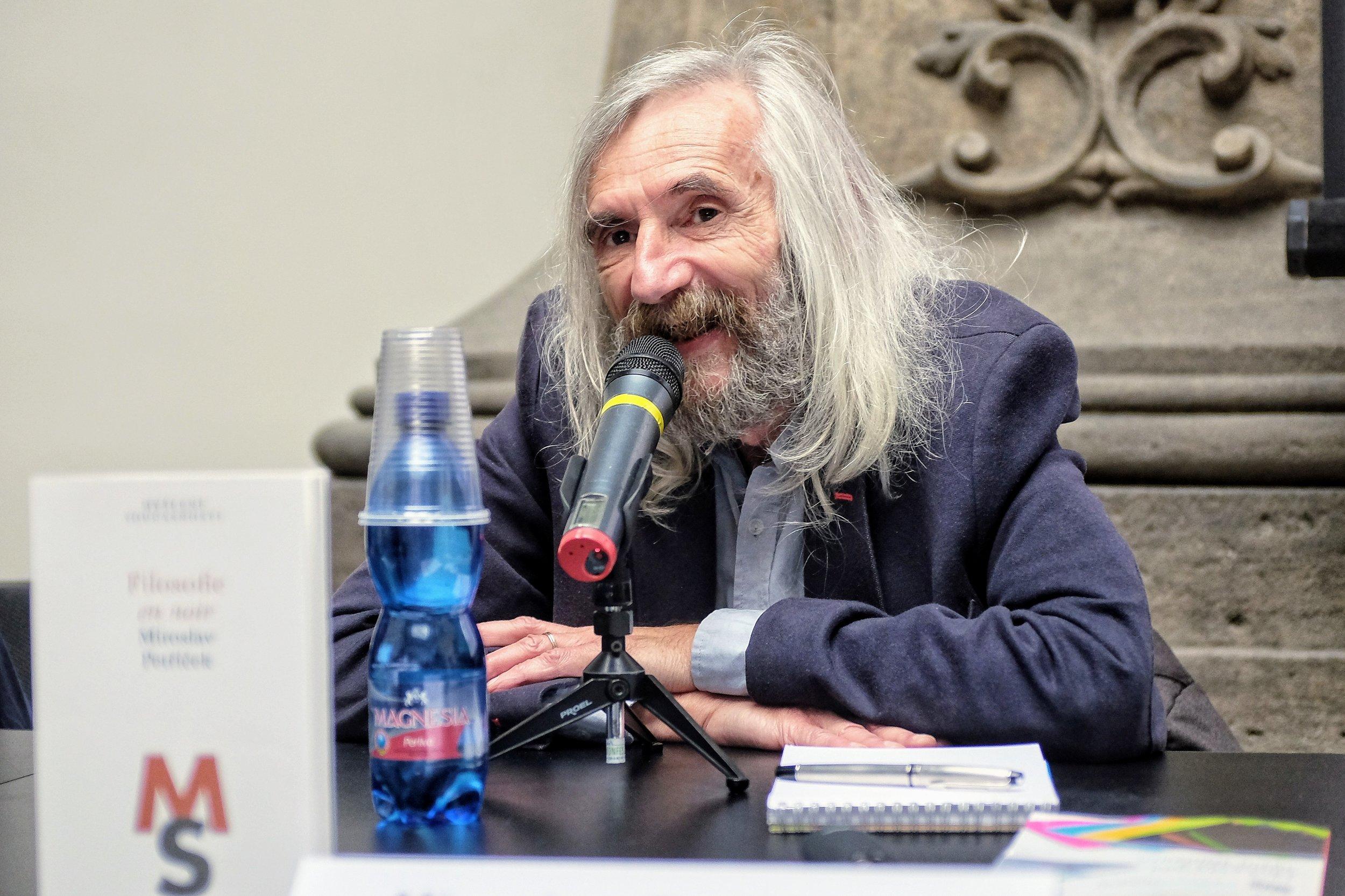 Miroslav Petříček, Svět knihy 2019