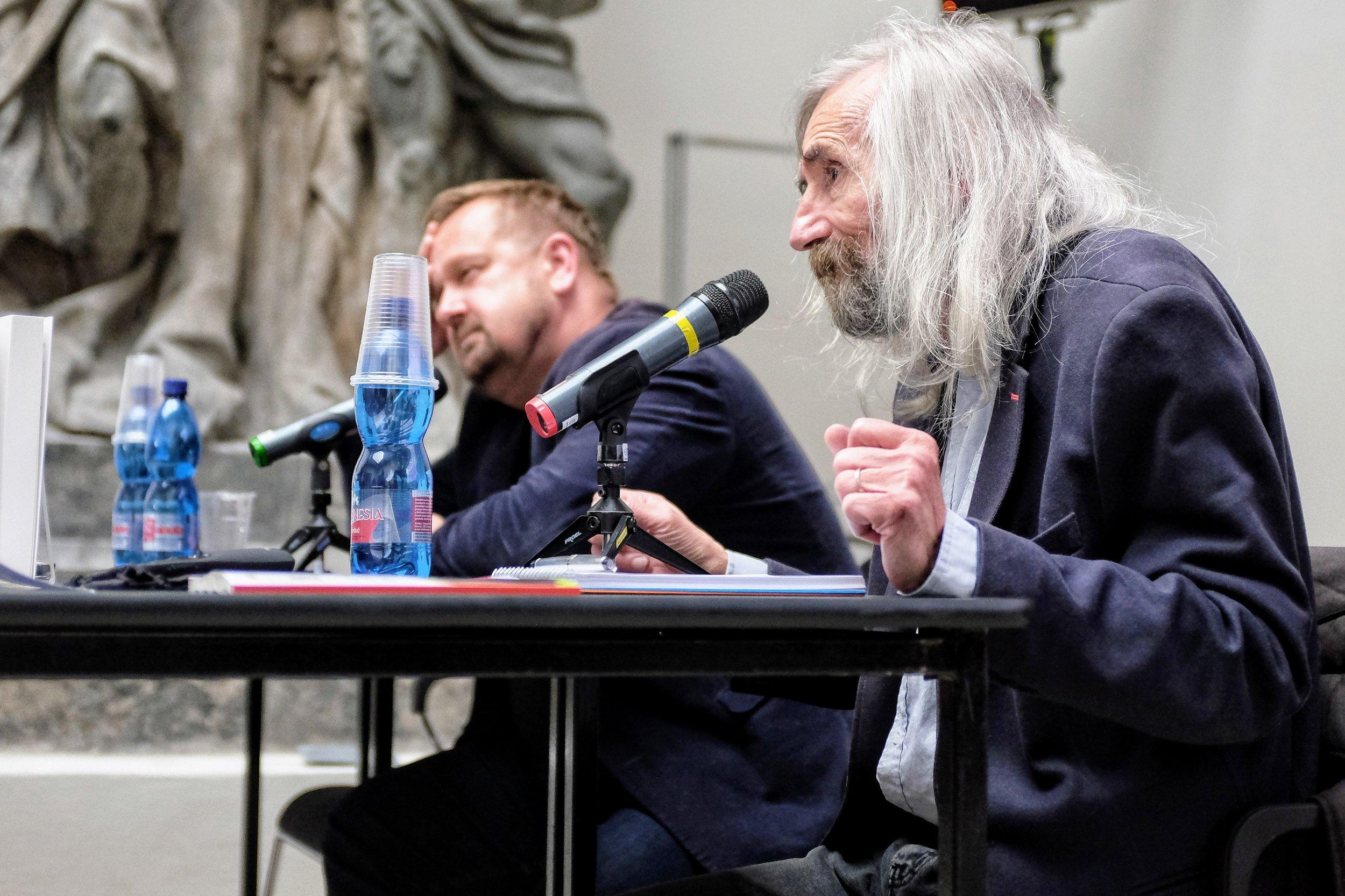 Miroslav Petříček talk with Petr Fischer