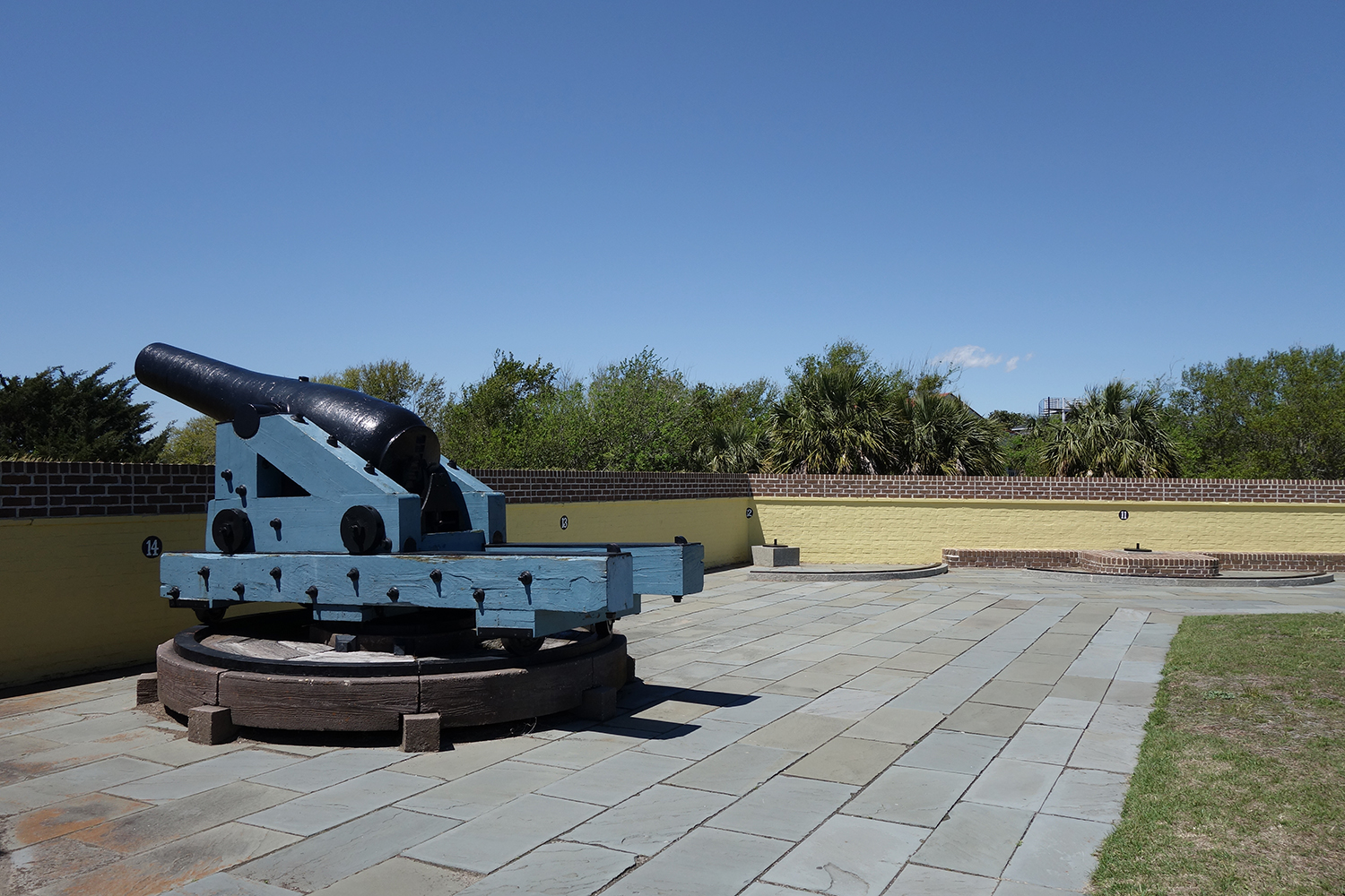 Canon at Fort Moultrie
