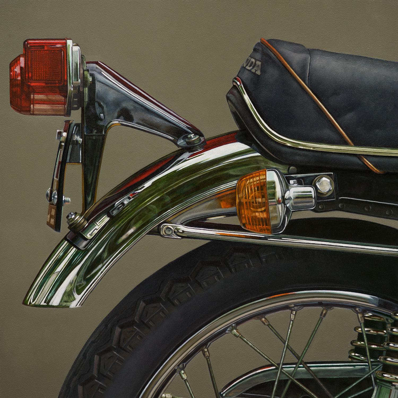 Honda: Aft | 12 x 12 | Oil on panel