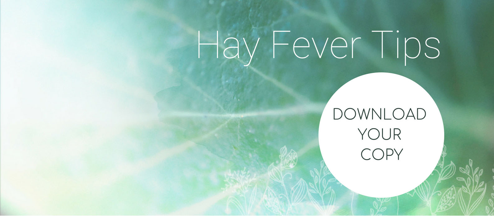 Hay Fever Tips