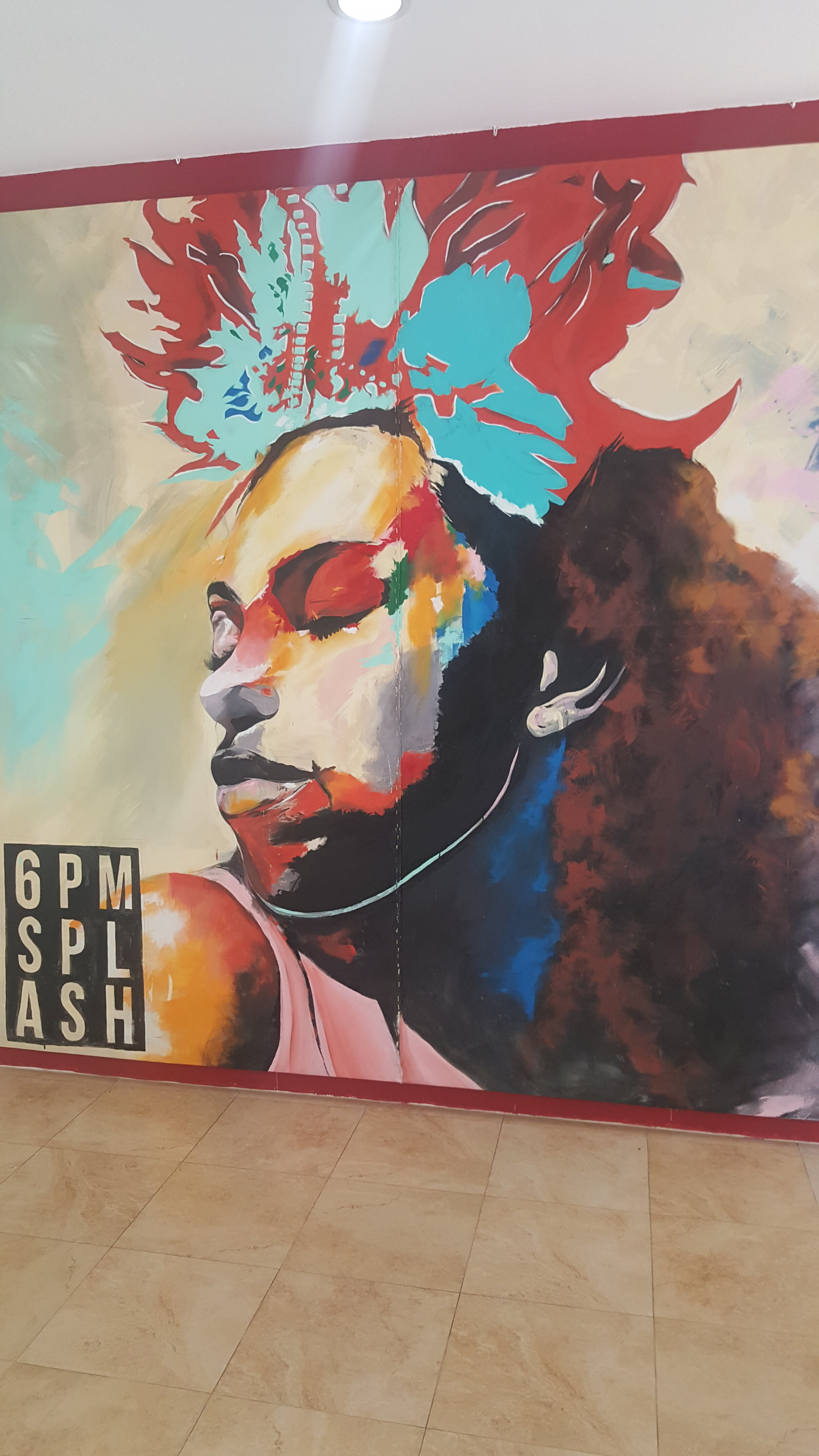 Find me at the Spiritual Wellness Zone at the Caribbean Wellness Day, in front of this beautiful mural (Ground floor, opposite Rainbow Boutique)