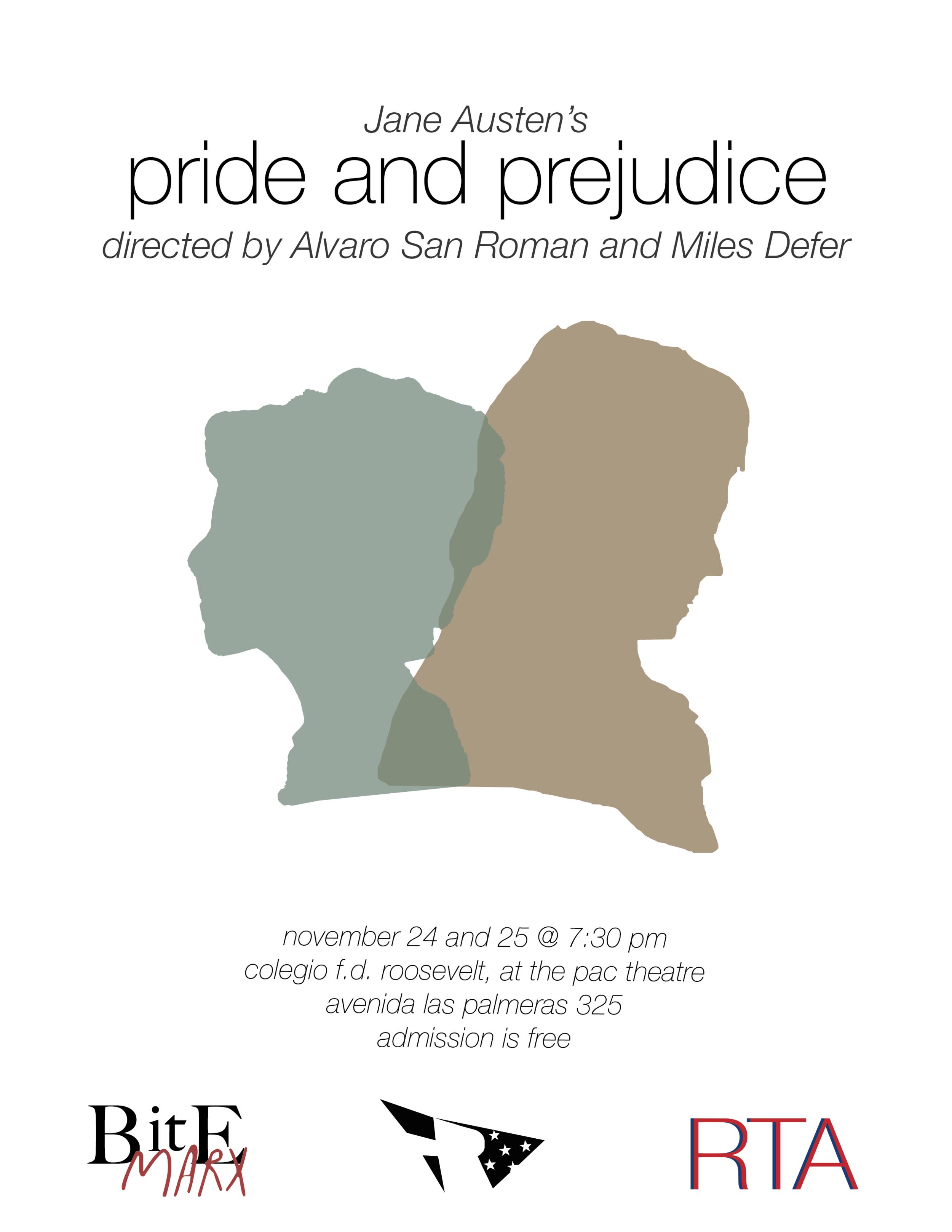 """""""Pride and Prejudice"""" Poster"""